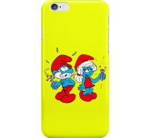 smurf iPhone Case/Skin