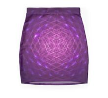 Purple Crown Light Mini Skirt