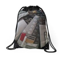 Legos Look Good on Everything Drawstring Bag