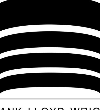 Frank Lloyd Wright Logo Sticker