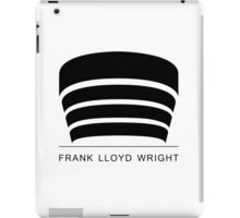 Frank Lloyd Wright Logo iPad Case/Skin