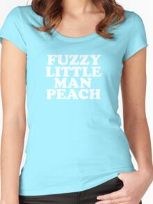 Old Gregg - Fuzzy Little Man Peach Women's Fitted Scoop T-Shirt