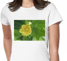 Canadian Exotics - Extravagant Tulip Tree Bloom Womens Fitted T-Shirt