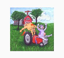 Dairy Cows Steal a Tractor Unisex T-Shirt