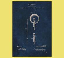 Electric lights Edison patent art One Piece - Short Sleeve