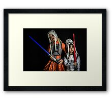 Move Over Rey Framed Print