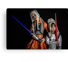 Move Over Rey Canvas Print