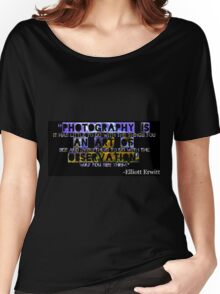 Photography Is Women's Relaxed Fit T-Shirt