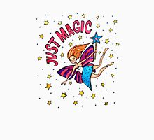 Just Magic: Whimsical Fairy Watercolor Illustration Unisex T-Shirt