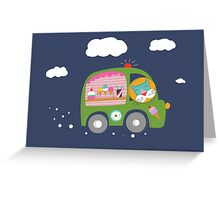Ice Cream Truck Greeting Card