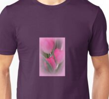 A Vision Of Pink Tulips Unisex T-Shirt