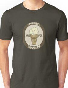 Sprinkles are for Winners  Unisex T-Shirt