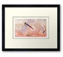 Common Dragons Framed Print