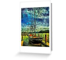 Cape Foulweather Tall Ship Greeting Card