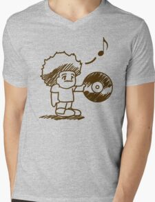 SOULective Listening Lounge Tee - 012 Mens V-Neck T-Shirt