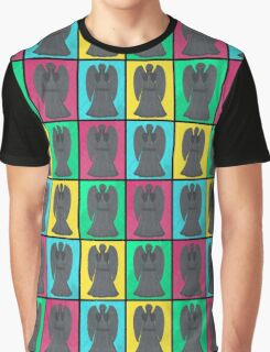 Weeping Angels Pop Art Graphic T-Shirt