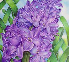 Spring Hyacinth by joeyartist