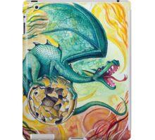 Dragon Guarding Pyrite iPad Case/Skin