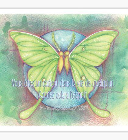 Cadeau papillons Sticker