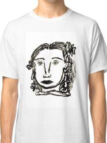 Rodarte Floral Lady 2 Classic T-Shirt