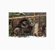 Turkeys feeding on corn Unisex T-Shirt