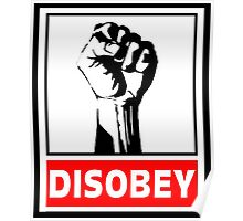 Disobey Revolution Poster