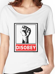 Disobey Revolution Women's Relaxed Fit T-Shirt