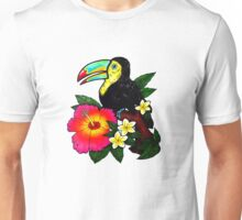 Tropical Toucan (Colour) Unisex T-Shirt