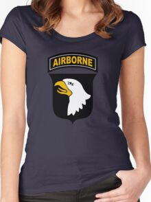 101st Airborne Women's Fitted Scoop T-Shirt