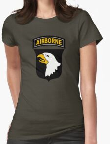 101st Airborne Womens Fitted T-Shirt