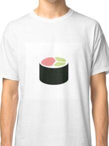 Minimalist Sushi Roll Classic T-Shirt