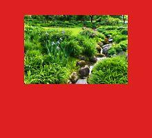 The Green Magic of Summer - a Luscious Garden Womens Fitted T-Shirt