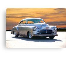 1951 Chevrolet Custom Coupe Canvas Print