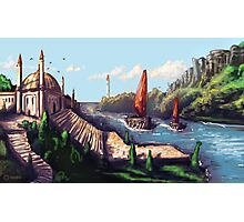 River Temple Photographic Print