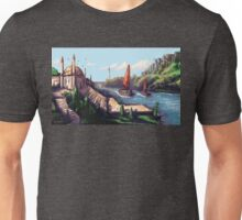 River Temple Unisex T-Shirt