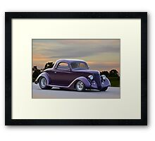 1936 Ford 'Pro Street' Coupe Framed Print
