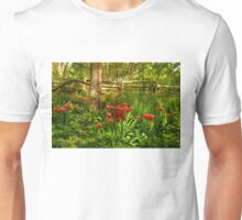 Untamed Tulip Forest - Impressions Of Spring Unisex T-Shirt
