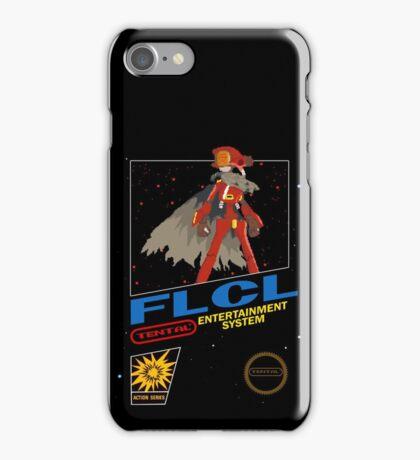 Retro Canti FLCL black box mock up  iPhone Case/Skin