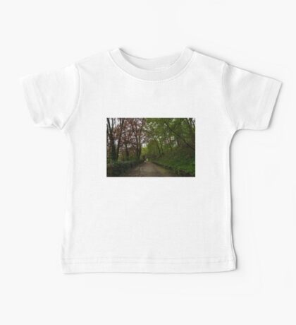 Spring Forest With Tulips Baby Tee