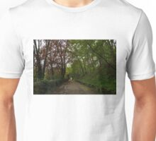 Spring Forest With Tulips Unisex T-Shirt