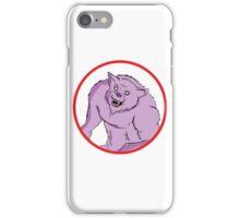 Comic Werewolf iPhone Case/Skin