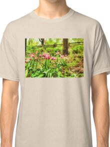 Dreamy Tulip Garden - Impressions Of Spring Classic T-Shirt