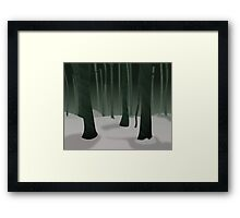 Fantasy Trees  Framed Print