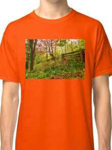 Fresh and Colorful Hillside - Impressions Of Spring Classic T-Shirt