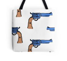 artsy gun pattern  Tote Bag