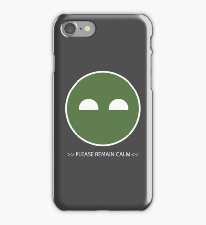 Halo ODST Superintendent - Calm iPhone Case/Skin