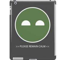 Halo ODST Superintendent - Calm iPad Case/Skin
