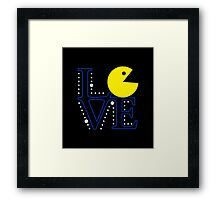 Pac Love Framed Print