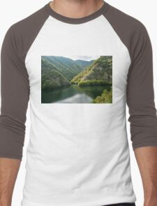 Green Mountain Lake Men's Baseball ¾ T-Shirt