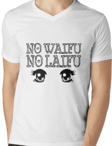 no waifu no laifu Mens V-Neck T-Shirt